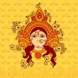 Wektorowy projekt bogini Durga Zdjęcie Stock