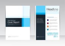 Wektorowy projekt dla pokrywa raportu broszurki ulotki plakata w A4 rozmiarze Fotografia Stock