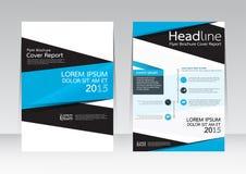 Wektorowy projekt dla pokrywa raportu broszurki ulotki plakata w A4 rozmiarze Zdjęcia Stock