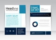 Wektorowy projekt dla pokrywa raportu broszurki ulotki plakata w A4 rozmiarze Fotografia Royalty Free