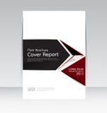 Wektorowy projekt dla pokrywa raportu broszurki ulotki Rocznego plakata w A4 rozmiarze Obraz Stock