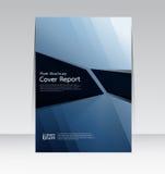 Wektorowy projekt dla pokrywa raportu broszurki ulotki Rocznego plakata w A4 rozmiarze Fotografia Stock