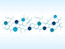 Wektorowy projekt sieci technologii tło