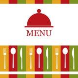 Wektorowy restauracyjny menu Obrazy Royalty Free