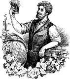 Piwowar ilustracji