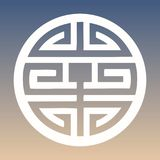 Wektorowy Shou znak na Gradientowym tle Zdjęcia Stock