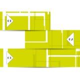 Wektorowy sieć element dla twój projekta Obrazy Stock