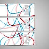 Wektorowy sieć element dla twój projekta Obrazy Royalty Free