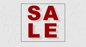 Wektorowy sprzedaż sztandar Zdjęcie Royalty Free