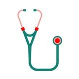 Wektorowy stetoskopu wizerunek Fotografia Royalty Free