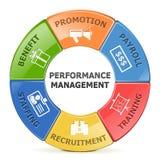 Wektorowy systemy zarządzania wydajnością system royalty ilustracja