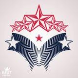 Wektorowy szlachetny korporacyjny gatunku 3d symbol Sieć e i graficzny projekt ilustracji