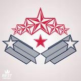 Wektorowy szlachetny korporacyjny gatunku 3d symbol Sieć i graficzny projekt ilustracji