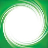Wektorowy tło jaskrawy - zieleń zawijasy Obraz Stock