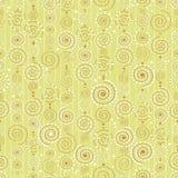 Wektorowy tło z dekoracyjnymi kędziorami Fotografia Stock