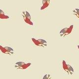 Wektorowy tło z ptakami Obraz Royalty Free