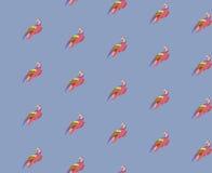 Wektorowy tło z ptakami Zdjęcia Royalty Free