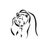 Wektorowy tatuażu nakreślenia zwierzę Obrazy Stock
