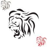 Wektorowy tatuażu nakreślenia zwierzę Zdjęcie Royalty Free