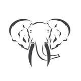 Wektorowy tatuażu nakreślenia zwierzę Obraz Royalty Free