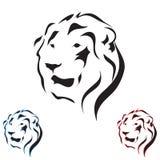 Wektorowy tatuażu nakreślenia zwierzę Zdjęcia Royalty Free