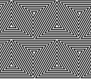 Wektorowy trójgraniasty geometryczny wzór. Obraz Royalty Free