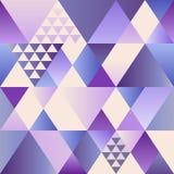 Wektorowy ultrafioletowy art deco bezszwowy wzór Nowożytny geometryczny tekstura abstrakta tło Nowożytny abstrakcjonistyczny proj Zdjęcia Royalty Free