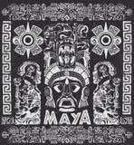 Wektorowy ustawiający Majscy motywy royalty ilustracja