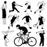 Wektorowy ustawiający sport ikony ilustracji
