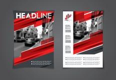 Wektorowy ustawiający sztuk ulotki broszurki A4 Zdjęcie Stock