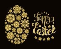 Wektorowy Wielkanocny sztandar royalty ilustracja