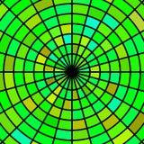 Wektorowy witraż mozaiki tło Obraz Stock