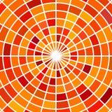 Wektorowy witraż mozaiki tło Obrazy Stock