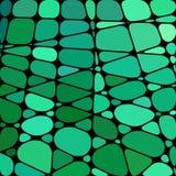 Wektorowy witraż mozaiki tło Fotografia Stock