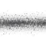 Wektorowy wizerunek czarni kwadraty na białym tle ilustracja wektor