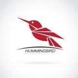 Wektorowy wizerunek hummingbird projekt Zdjęcie Stock