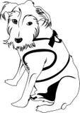Wektorowy wizerunek pies royalty ilustracja
