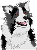 Wektorowy wizerunek pies ilustracji