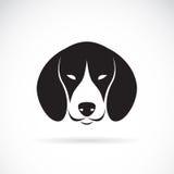 Wektorowy wizerunek psi beagle royalty ilustracja