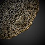 Wektorowy złocisty ornament. Fotografia Royalty Free