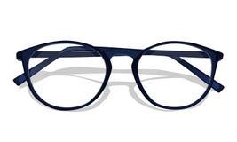 Wektorowy zmrok - błękitni szkła Obraz Stock