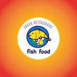 Wektorowy zwierzęcy logo na gradientowym tle Ilustracji