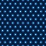 Wektorowych błyszczących błękitny świateł bezszwowy wzór Fotografia Royalty Free
