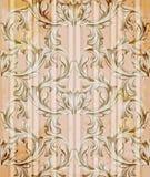 Wektoru adamaszka ornamentu rocznika tło Luksusowy wystrój, tkanina, tkanina, płytki Fotografia Stock