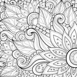Wektoru Barwiony Kwiecisty tło royalty ilustracja