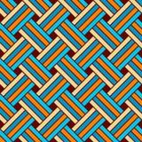 Wektoru bezszwowy Geometryczny Wzór ilustracja wektor