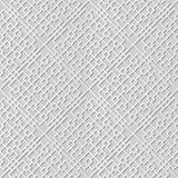 Wektoru 3D papieru sztuki wzoru adamaszkowi bezszwowi 343 tła Kwadratowy Crosscheck ilustracja wektor