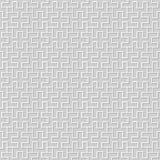 Wektoru 3D papieru sztuki wzoru adamaszkowi bezszwowi 334 tła prostokąta Ślimakowata geometria ilustracji