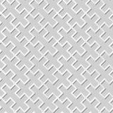 Wektoru 3D papieru sztuki wzoru adamaszkowi bezszwowi 347 tła Przecinający prostokąt royalty ilustracja