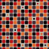 Wektoru deseniowy tło z zaokrąglonymi narożnikowymi kwadratami Ilustracja Wektor